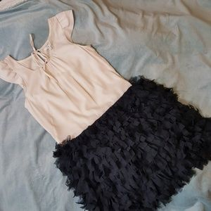 Gap Dress with Adorable Fluffy Skirt size 0